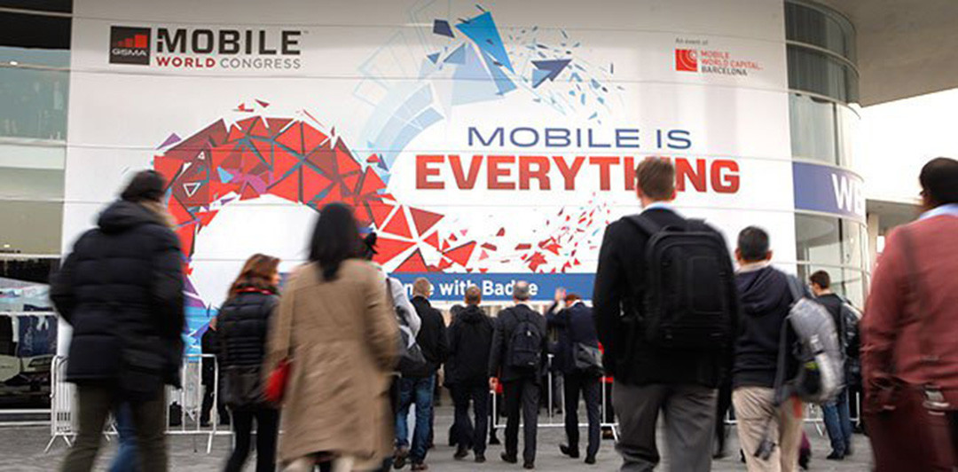 In the middle of world's biggest mobile event MWC Barcelona